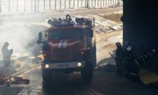 Maskavā ugunsgrēkā gājuši bojā astoņi ugunsdzēsēji