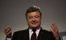 Во вторник Латвию посетит президент Украины Петр Порошенко