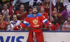 Russia forward Alex Ovechkin