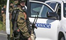 Kaujinieki pie Mariupoles apšaudījuši EDSO novērotājus