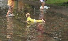 Vietām Kurzemē brīvdienās lietus daudzums pārsniegs mēneša normu