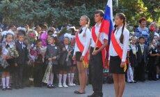 Krimā terorizē studentus par Ukrainas himnas dziedāšanu
