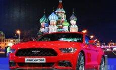Sankciju kara sekas: 'Ford' samazina tirdzniecības cenas Krievijā