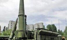 Krievija apstiprina raķešu 'Iskander' izvietošanu Baltijas valstu pierobežā
