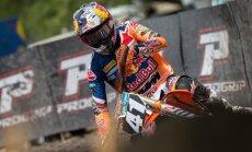 Jonasam otrā vieta motokrosa pasaules čempionāta Šveices posmā MX2 klasē