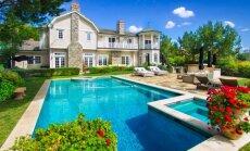 Foto: Iespaidīgs nams Losandželosā, kurā mitinās aktrise Džesika Alba
