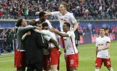 'RB Leipzig' kļuvuši par Vācijas bundeslīgas veiksmīgākajiem jaunpienācējiem