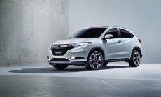 'Honda' atklāj jaunas detaļas par 'HR-V' Eiropas tirgum