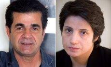 Saharova cilvēktiesību balva piešķirta Irānas kinorežisoram un advokātei