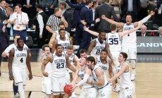 NCAA čempiontitulu basketbolā otro reizi trīs gadu laikā iegūst Villanovas Universitātes komanda