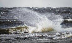 No prāmja jūrā netālu no Kolkas iekritis un pazudis Lietuvas pilsonis