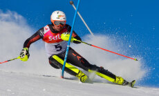 Kristaps Zvejnieks uzvar Baltijas kausa slalomā