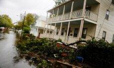 Viesuļvētra 'Florensa' Ziemeļkarolīnā laupa dzīvību pieciem cilvēkiem