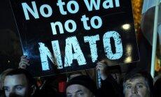 Vairāki tūkstoši Melnkalnē protestē pret valsts dalību NATO