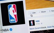 NBA pirmo reizi tiešraidē spēli translēs 'Facebook'