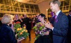 Foto: Liepājā nosvinēta koncertzāles 'Lielais dzintars' divu gadu jubileja