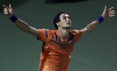 Evgeny Donskoy Russia after beat Roger Federer