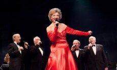Foto: Svinīgi aizvadīts Margaritas Vilcānes jubilejas koncerts