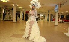 Foto: 'Muzikālās bankas' greznākais tērps – Samantas Tīnas kleita