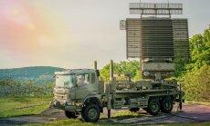 Latvijas armija saņem jaunu gaisa telpas radiolokatoru
