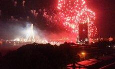 Jaungada uguņošanu Rīgā par 17 tūkstošiem eiro organizēs 'International Fireworks Design'