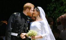 ФОТО, ВИДЕО: Принц Гарри и Меган Маркл стали мужем и женой