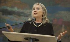 Obama Klintoni nosauc par labu ASV prezidenta amata kandidāti
