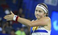 Остапенко после победы над Мугурусой не смогла пробиться в финал турнира в Ухане