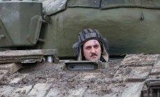 Ukrainas separātistu bruņojumā esot divi T-72 tanki
