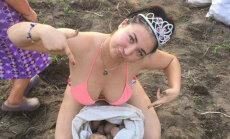 Sociālo tīklu pērles: glamūrs Krievijas meiteņu gaumē