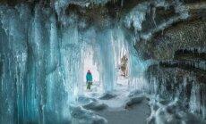 Baikāla ledus alas – vieta kā no citas pasaules