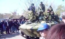 Video: Prokrieviskās vienības tikušas pie bruņutransportieriem