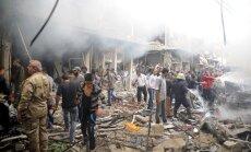 Pašnāvnieka sarīkotā sprādzienā Sīrijā vairāki bojāgājušie