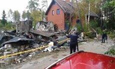 Uzsprāgstot mājai Saulkrastu novadā, pieci bojāgājušie; arī nepilngadīgais (plkst.11.47)