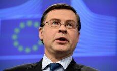 Lielbritānijas pārstāvis pamet ES finanšu komisāra amatu; to uzticēs Dombrovskim