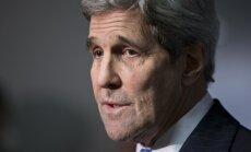 Kerijs aicina izmeklēt Krievijas un Sīrijas iespējamos kara noziegumus