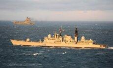 Krievijas karakuģi pavēl mainīt kursu civilajiem kuģiem Lietuvas ekonomiskajā zonā