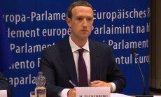 Zakerbergs sola EP deputātiem izmaiņas 'Facebook'