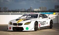 Arī jaunākais BMW mākslas automobilis brauks sacīkstēs
