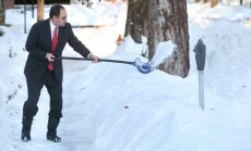 Spēcīga sniega vētra aizputinājusi Kanādas austrumdaļu