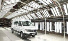 Foto: Ieskats jaunākajā 'Volkswagen' rūpnīcā Polijā