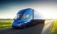 Arābi atkritumu izvešanai iegādājušies 'Tesla Semi' elektriskos auto