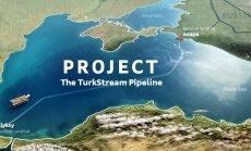 Turcija un Krievija paraksta līgumu par gāzesvada 'TurkStream' būvniecību
