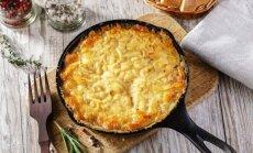 Mutē izkusīs katrs gabaliņš – 18 kārdinošu siera sacepumu receptes vakariņām