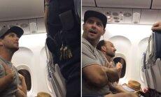 Video: 'Delta' no pārpildītas lidmašīnas izsēdina ģimeni ar divgadīgu mazuli