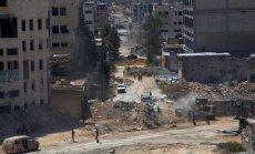 Krievija sola katru dienu uz trim stundām apturēt uguni Alepo