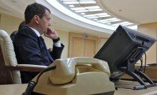 Laikraksts: G20 samitā mēģināts izspiegot Medvedevu un citus politiķus
