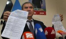 Alijeva oponents aicina anulēt vēlēšanu rezultātus