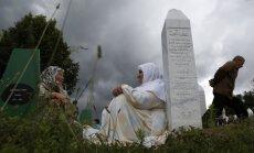 Krievija bloķē ANO Drošības padomes rezolūciju par Srebrenicas genocīdu
