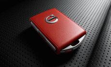 'Volvo' sarkanā atslēga ierobežos braukšanas ātrumu un mūzikas skaļumu